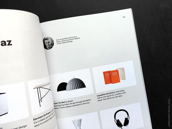 Offscreen Magazine Issue 15 – Bestellen bei LOREM (not Ipsum) in Zürich (Schweiz)