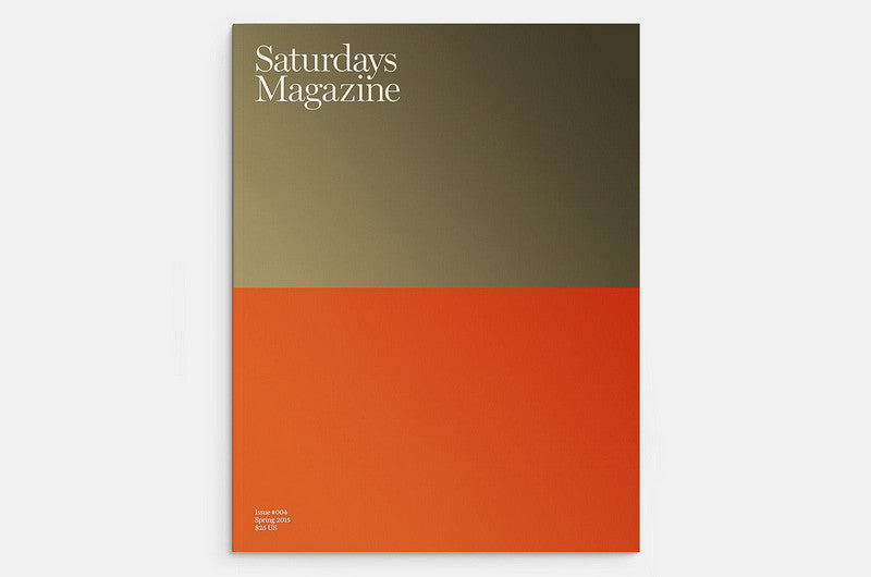 Saturdays Magazine Issue 4 - Bestellen bei LOREM (not Ipsum) - Bern (Schweiz)