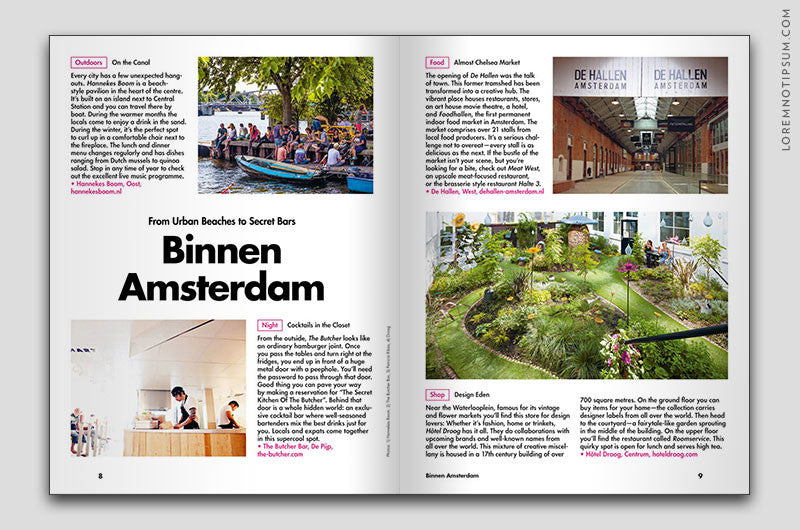 Lost in Amsterdam (The Travel Guide) – Bestellen bei LOREM (not Ipsum) in Bern (Schweiz) – loremnotipsum.com