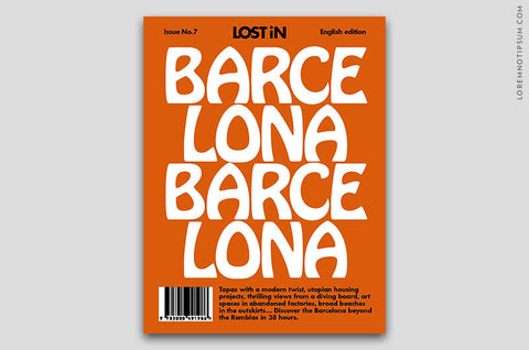 Lost in Barcelona (The Travel Guide) – Bestellen bei LOREM (not Ipsum) in Zürich (Schweiz)