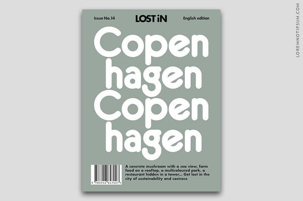 Lost in Copenhagen Travel Guide – Bestellen bei LOREM (not Ipsum) in Zürich (Schweiz)