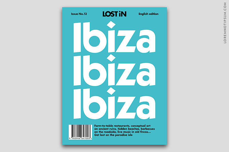 Lost in Ibiza (Travel Guide) – Bestellen bei LOREM (not Ipsum) in Zürich (Schweiz)