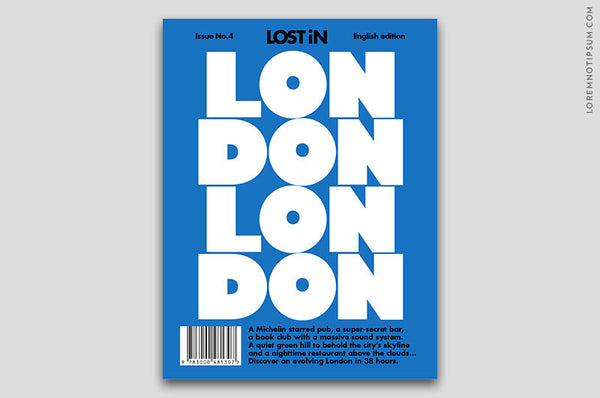 Lost in London (The Travel Guide) – Bestellen bei LOREM (not Ipsum) in Zürich (Schweiz)