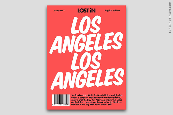 Lost in Los Angeles (The Travel Guide) – Bestellen bei LOREM (not Ipsum) in Zürich (Schweiz)