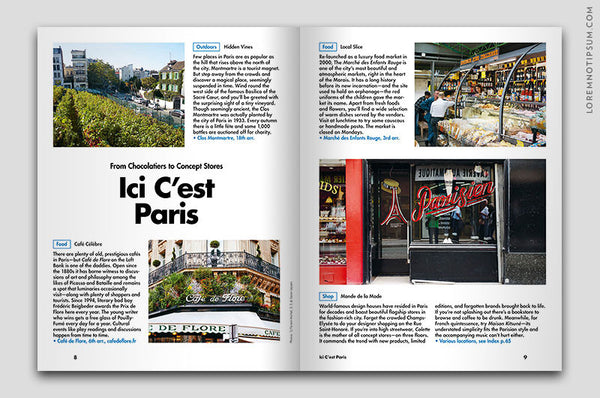 Lost in Paris (The Travel Guide) – Bestellen bei LOREM (not Ipsum) in Zürich (Schweiz)