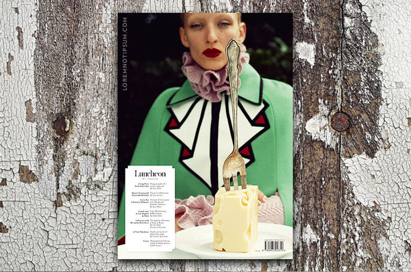 Luncheon Magazine Issue 2 – Bestellen bei LOREM (not Ipsum) in Zürich (Schweiz)