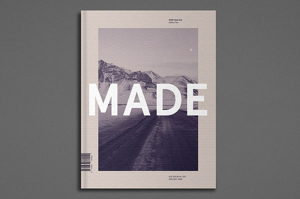 MADE Quarterly Issue 2 - Bestellen bei LOREM (not Ipsum) - Bern (Schweiz)
