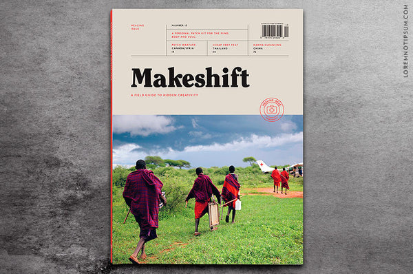 Makeshift Magazine Issue 13 - Bestellen bei LOREM (not Ipsum) - Bern (Schweiz)