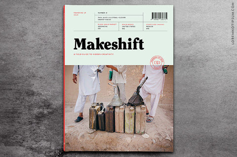 Makeshift Magazine Issue 10 - Bestellen bei LOREM (not Ipsum) - Bern (Schweiz)