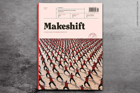 Makeshift Magazine Issue 11 - Bestellen bei LOREM (not Ipsum) - Bern (Schweiz)