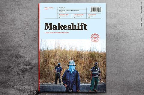 Makeshift Magazine Issue 12 - Bestellen bei LOREM (not Ipsum) - Bern (Schweiz)