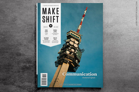 Makeshift Magazine Issue 4 - Bestellen bei LOREM (not Ipsum) - Bern (Schweiz)