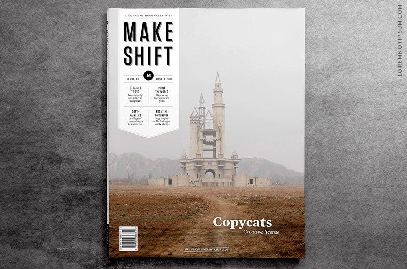 Makeshift Magazine Issue 8 - Bestellen bei LOREM (not Ipsum) - Bern (Schweiz)
