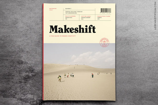 Makeshift Magazine Issue 9 - Bestellen bei LOREM (not Ipsum) - Bern (Schweiz)