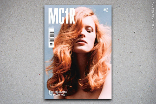 MC1R Magazine Issue 3 – Bestellen bei LOREM (not Ipsum) in Zürich (Schweiz)