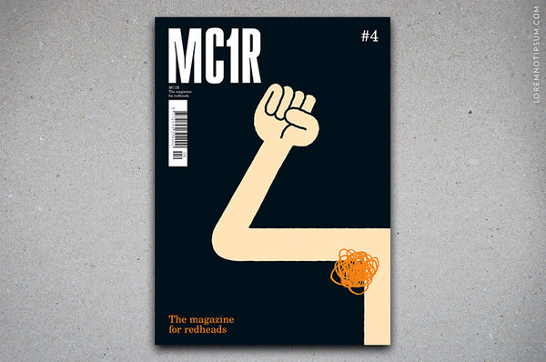 MC1R Magazine Issue 4 – Bestellen bei LOREM (not Ipsum) in Zürich (Schweiz)