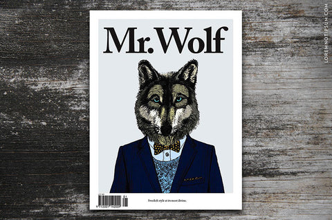 Mr. Wolf Magazine Edition One - Bestellen bei LOREM (not Ipsum) - Bern (Schweiz)