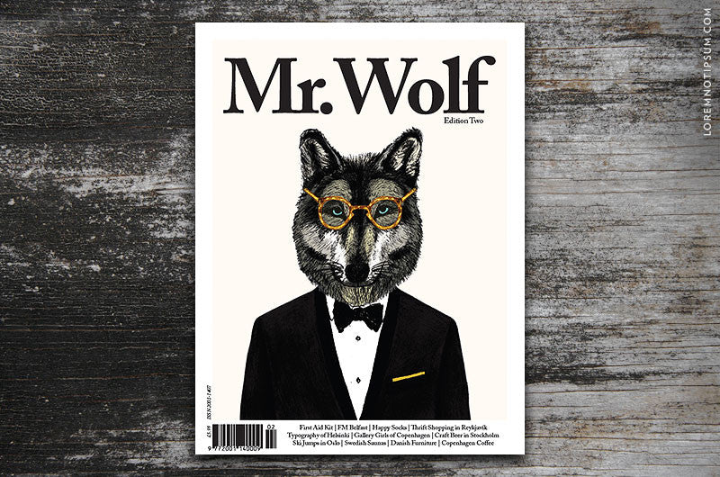 Mr. Wolf Magazine Edition Two - Bestellen bei LOREM (not Ipsum) - Bern (Schweiz)