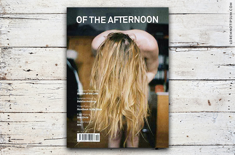 Of the Afternoon Issue 4 - Bestellen bei LOREM (not Ipsum) - Bern (Schweiz)