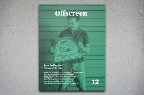 Offscreen Magazine Issue 12 - Bestellen bei LOREM (not Ipsum) in Zürich (Schweiz)