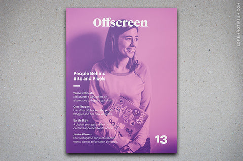 Offscreen Magazine Issue 13 - Bestellen bei LOREM (not Ipsum) in Zürich (Schweiz)