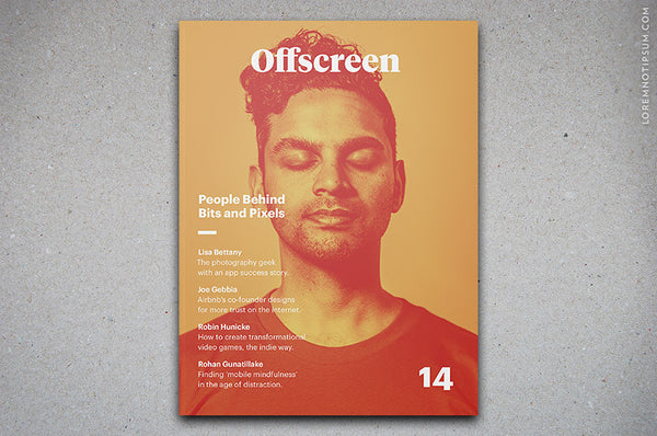 Offscreen Magazine Issue 14 – Bestellen bei LOREM (not Ipsum) in Zürich (Schweiz)