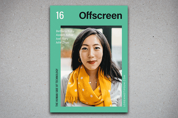 Offscreen Magazine Issue 16 – Bestellen bei LOREM (not Ipsum) in Zürich (Schweiz)