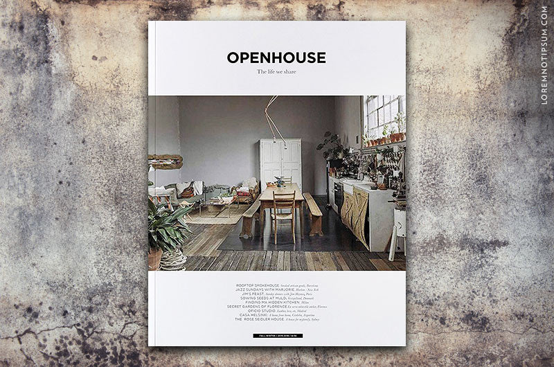 Openhouse Magazine Issue 4 - Bestellen bei LOREM (not Ipsum) in Zürich (Schweiz)