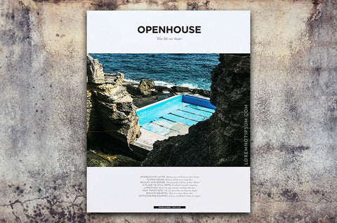 Openhouse Magazine Issue 7 – Bestellen bei LOREM (not Ipsum) in Zürich (Schweiz)