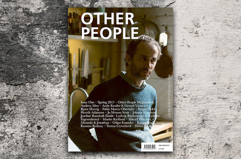 Other People Magazine Issue 1 – Bestellen bei LOREM (not Ipsum) in Zürich (Schweiz)