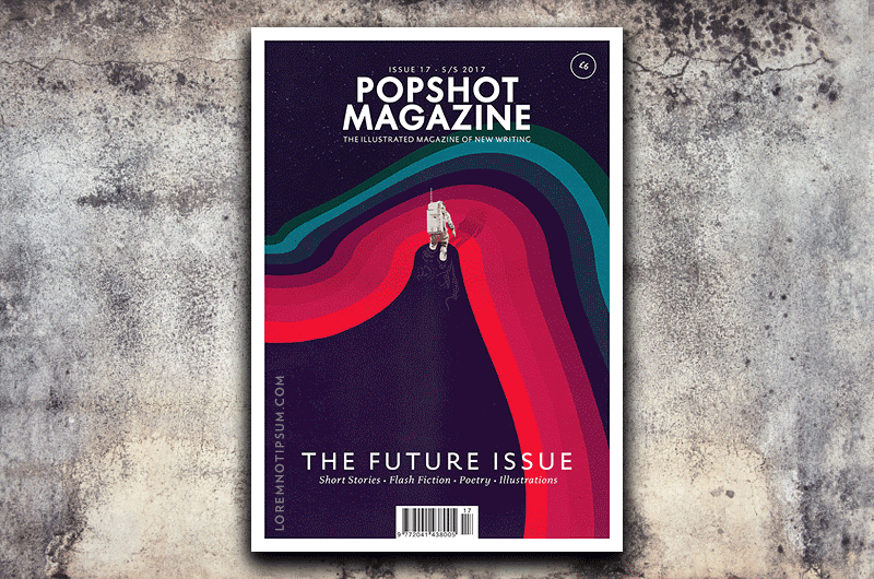 Popshot Magazine Issue 17 (the Future Issue) – Bestellen bei LOREM (not Ipsum) in Zürich (Schweiz)