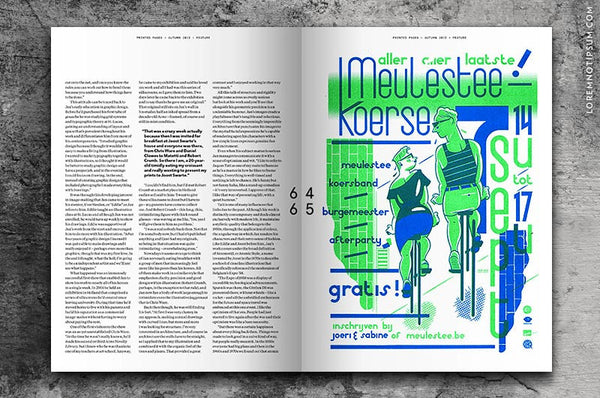 Printed Pages Issue 3 bestellen bei LOREM (not Ipsum)