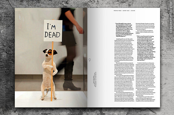 Printed Pages Issue 4 bestellen bei LOREM (not Ipsum)