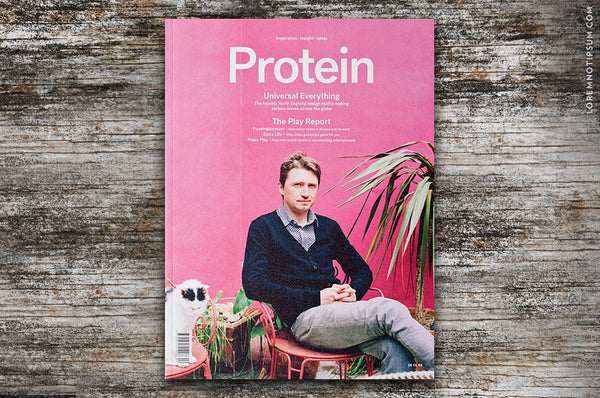 Protein Journal Issue 13 - Bestellen bei LOREM (not Ipsum) - Bern (Schweiz)