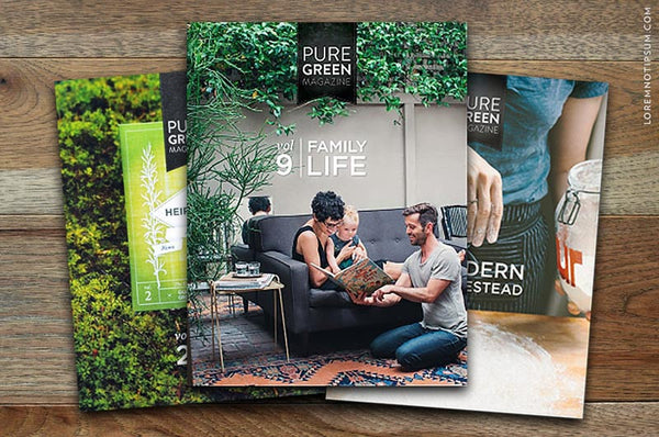 Pure Green Magazine Bundle #1 – Bestellen bei LOREM (not Ipsum) in Zürich (Schweiz)
