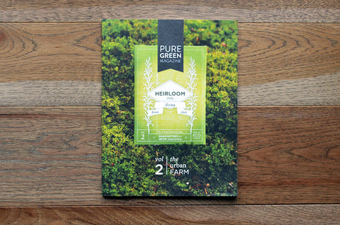 Pure Green Magazin Issue 2 - Bestellen bei LOREM (not Ipsum) - Bern (Schweiz)