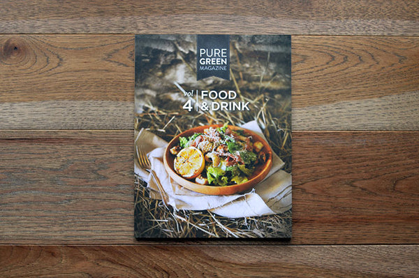 Pure Green Magazin Issue 4 - Bestellen bei LOREM (not Ipsum) - Bern (Schweiz)