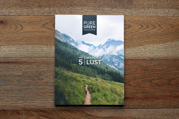 Pure Green Magazin Issue 5 - Bestellen bei LOREM (not Ipsum) - Bern (Schweiz)