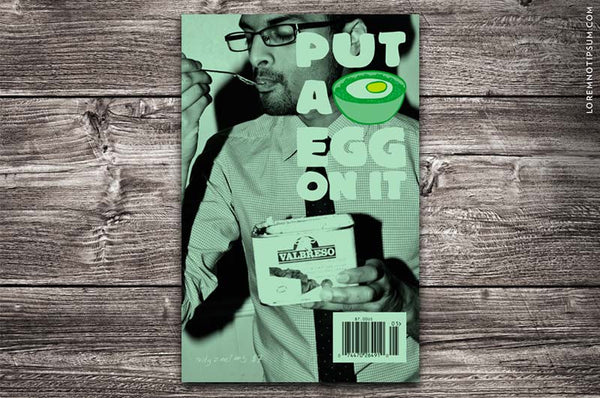 Put A Egg On It Magazine 5 - Bestellen bei LOREM (not Ipsum) - Bern (Schweiz)