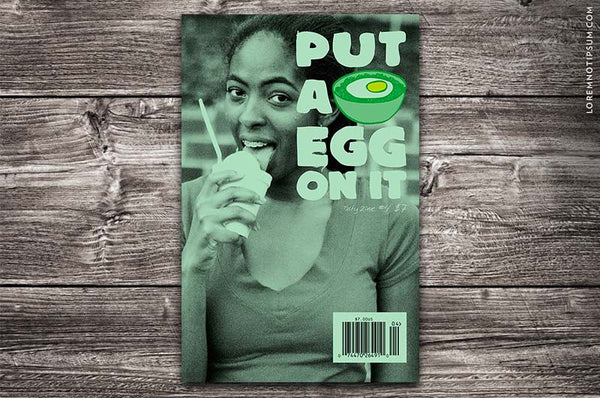 Put A Egg On It Magazine 4 - Bestellen bei LOREM (not Ipsum) - Bern (Schweiz)
