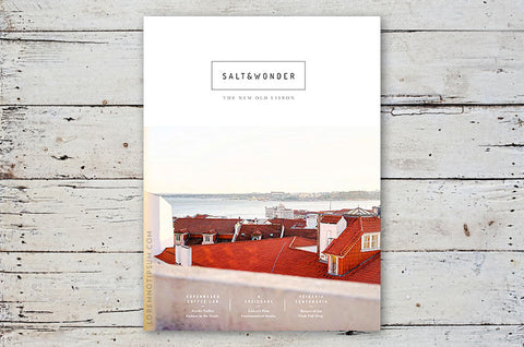 Salt & Wonder Magazine Issue 1 – Bestellen bei LOREM (not Ipsum) in Zürich (Schweiz)