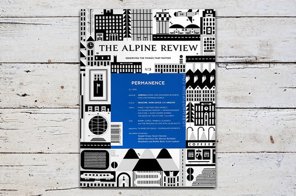 The Alpine Review Issue 3 – Bestellen bei LOREM (not Ipsum) in Zürich (Schweiz)