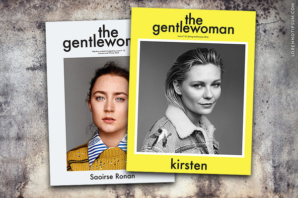 Abonnement The Gentlewoman – Bestellen bei LOREM (not Ipsum) in Zürich (Schweiz)
