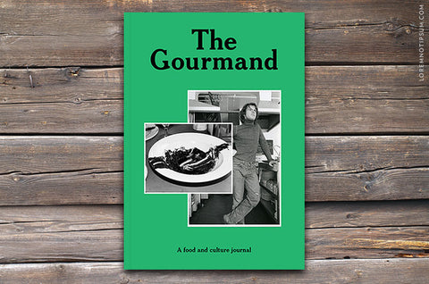 The Gourmand Issue 2 - Bestellen bei LOREM (not Ipsum) - Bern (Schweiz)