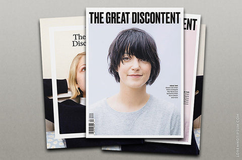 Abonnement von The Great Discontent Magazine - Bestellen bei LOREM (not Ipsum) - Bern (Schweiz)