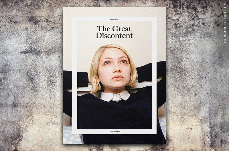 The Great Discontent Magazine Issue 1 - Bestellen bei LOREM (not Ipsum) - Bern (Schweiz)
