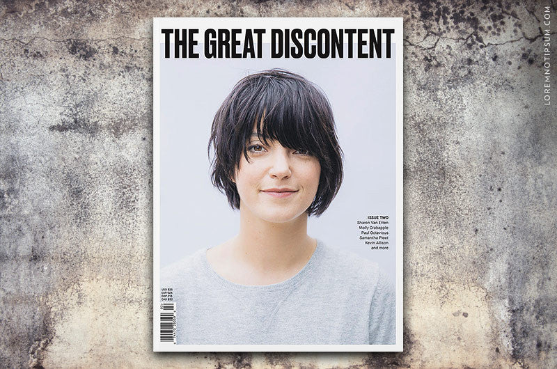 The Great Discontent Magazine Issue 2 - Bestellen bei LOREM (not Ipsum) - Bern (Schweiz)