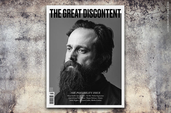 The Great Discontent Magazine Issue 3 - Bestellen bei LOREM (not Ipsum) - Bern (Schweiz)
