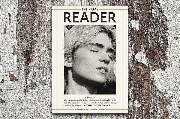 The Happy Reader Magazine Issue 5 - Bestellen bei LOREM (not Ipsum) in Zürich (Schweiz)