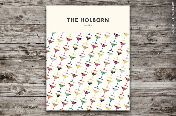The Holborn Magazine Issue 1 - Bestellen bei LOREM (not Ipsum) - Bern (Schweiz)